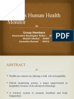 wireless human health monitring ppt