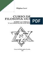 Eliphas Levi - Curso de Filosofia Oculta