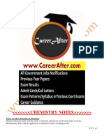 chemistry for IAS,SSC,Upsc