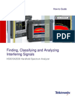 37W-29170-0 Finding, Classifying, Analyzing Interfering Signals With H500_SA2500