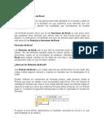 Fórmulas y Funciones de Excel II Parte