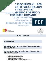 XLIII Seminario Internacional Mercado de Medicamentos Febrero 2015
