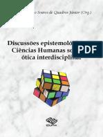 Ciencias Humas Otica Interdisciplinar