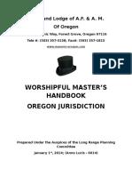 Worshipful Masters Handbook