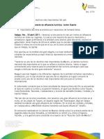 18 04 2011 - El gobernador Javier Duarte de Ochoa, anuncia importante derrama económica por vacaciones de Semana Santa.