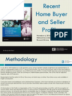 2016 11 04 Recent Home Buyer and Seller Profiles 11-11-2016