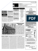 Claremont COURIER Classifieds 11-11-16
