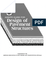 AASHTO Guide for Design of Pavement Structures