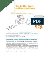 Fundamentos de SQL
