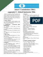 FIDE - TRG Regulations - Appendix 9