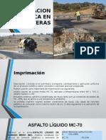 La Imprimacion Asfaltica en Carreteras