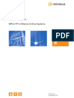 White Paper MPLS-TP in Mission Critical Systems