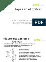 Macro-etapas en El Grafcet
