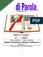 Sete di Parola - XXXIII settimana C 2016.doc