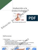 Clase 1. Endocrinología Introducción a La Endocrinología Sólo Lectura