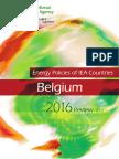 Energy Policies of IEA Countries Belgium 2016 Review