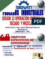 2011 - II - Sesion 12 - Secado y Mezclado
