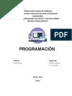 Trabajo de Programacion