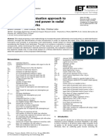 Multi-criteria Optimisation Approach to Increase the Delivered Power in Radial Distribution Networks