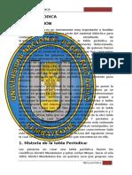 Tabla Periodica -Quimica