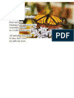 Of Butterflies - poem