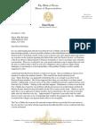 Dallas Mayor Letter from Dan Flynn