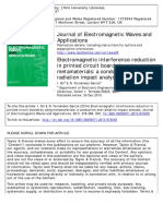 Electromagnetic Interference Reduction in Printed Circuit Boards by Using Metamaterials a Conduction and Radiation Impact Analysis