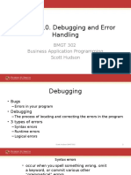 10_Debugging and Error Handling