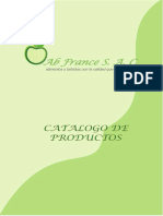 CATALOGO ABFRANCE
