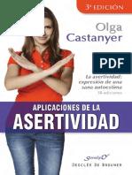 Muestra Aplicaciones de Asertividad Olga Castantyer 10 Pag