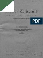Kaiserliche und apostolische Tradition im mittelalterlichen Trier von Eugen Ewig