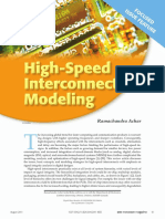 High Speed Interconnect Modeling