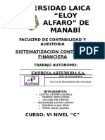 Manual Artemoda