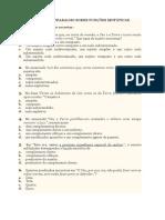 Ficha Sobre Funções Sintáticas