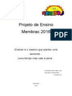 Projeto Da Menibrac 2016
