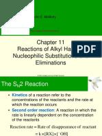 Alkyl Halides SN1,2 and E1,2,1cb(1)