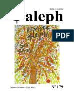 Aleph No. 179. Octubre – Diciembre, 2016. 50 años