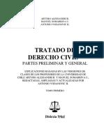 Alesandri - Tratado de Derecho Civil Tomo i - Partes Preliminar y General