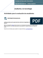 Actividades Para Estudiantes De Idioma Español 1º año