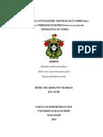 EFEKTIVITAS ANTI BAKTERI  EKSTRAK DAUN SIRIH.pdf