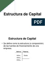 2016 Estructura y Costo de Capital 1
