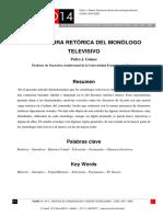 Estructura Retórica Del Monólogo Televisivo