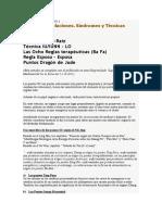 Puntos SU. Relaciones. Síndromes y Técnicas Acupuntura