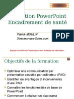 Formation PowerPoint Encadrement de Santé
