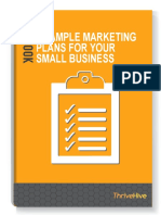 6 Sample Marketing Plans 69