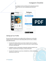 Getting Started with Instagram (Checklist)