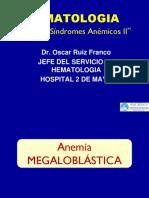 Taller de Síndromes Anémicos II