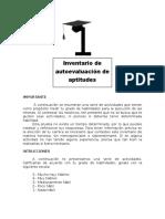 Escala de Inventario de Ocupacional