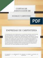 COSTOS DE PRODUCCIÓN DE UNA MUEBLERÍA GABY.pptx