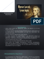 Presentacion de John Locke